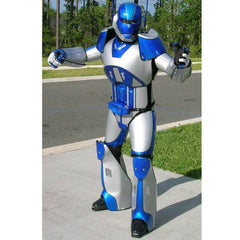 Carbon X Robot Costume