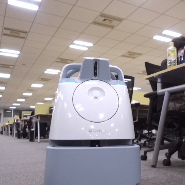 Whiz Cleaning Robot