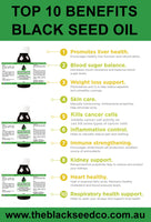 The Black Seed Co - Black Seed oil benefits