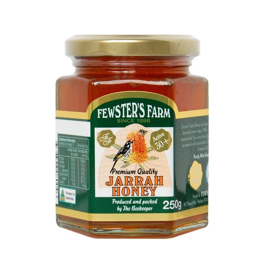 Fewster's Farm Organic Raw Jarrah Honey TA30+