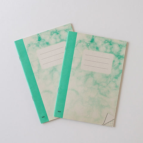 Vintage Czech Republic Marble Notebooks / RAD AND HUNGRY