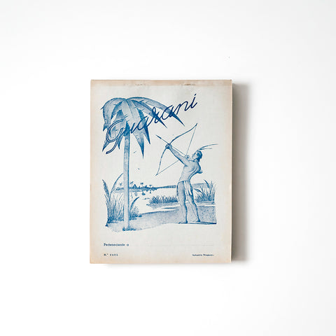 Uruguayan Vintage Penmanship Note Pad  / RAD AND HUNGRY
