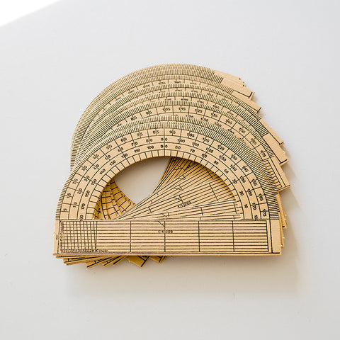 Vintage Hungarian Protractor Pack