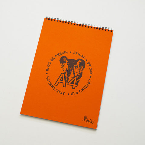 Slovakian Elephant Drawing Pad / RAD AND HUNGRY