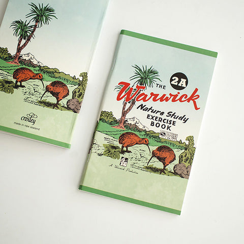 Vintage New Zealand Exercise Book / RAD AND HUNGRY