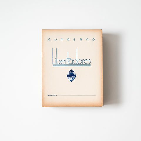Uruguayan Vintage Libertadores Notebook with Handwriting Paper | RAD AND HUNGRY