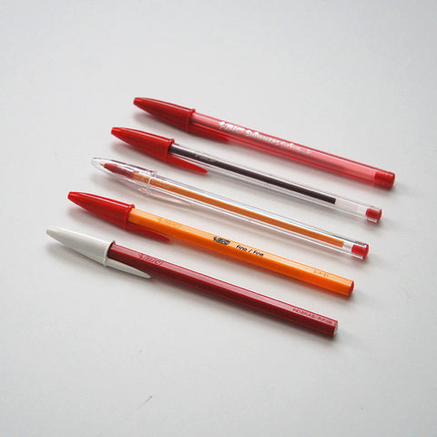 BIC Collection x Red Ink