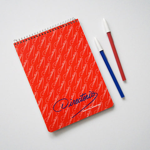 Made in Argentina note pad. Shop RAD AND HUNGRY for lo-fi office supplies locally sourced from around the world.