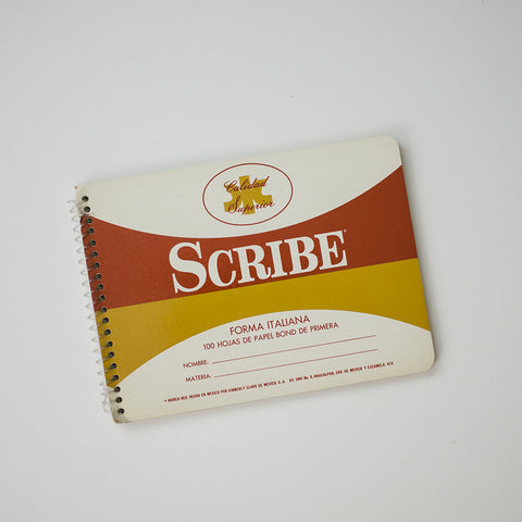 VINTAGE SCRIBE NOTEBOOK - ITALIANA