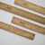 Vintage Mexican Roelante Wood Rulers / RAD AND HUNGRY