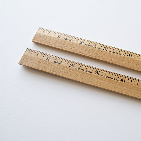 Vintage American Falcon wood ruler made in the USA. Shop RAD AND HUNGRY for office supplies sourced from around the world.