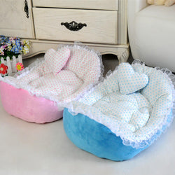 Dot Soft Cat Bed
