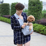 Hands-Free Reversible Small Pet Carrier