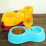 Double Pet Dish Bowl