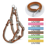 Pet Checkers Print Harness