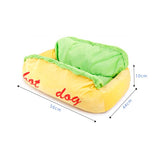 Warm Washable Pet Bed