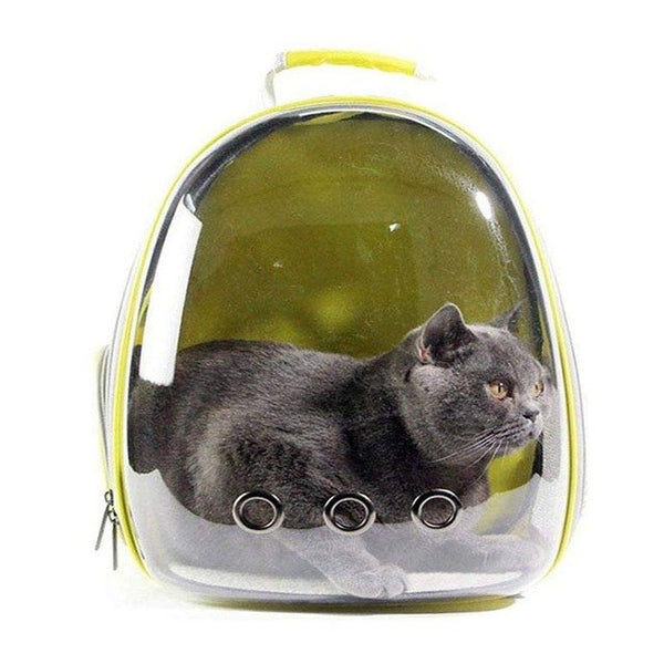 Space Capsule Design Pet Backpack