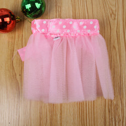 Pet Bowknot Lace Skirt