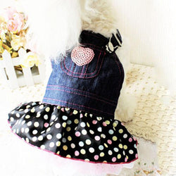 Pet Denim Strap Dress