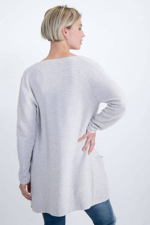 Ribbed Garcia Cardigan