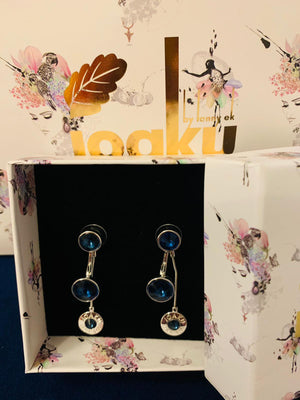 IOAKU Silver Kai Earrings