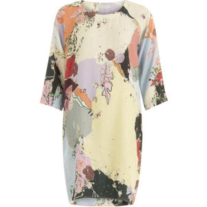 Coster Copenhagen multicolour dress w. ranglan sleeves