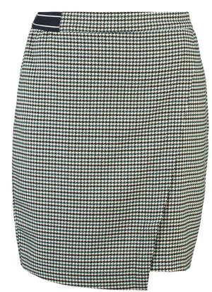 Check Garcia Skirt with Elasticated Waist