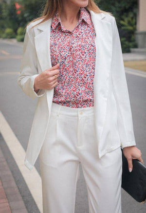 The Sarah-Jane White Blazer