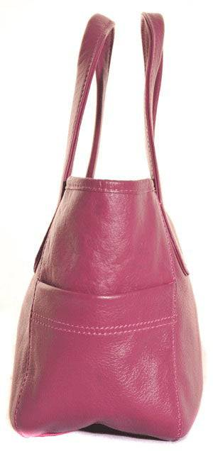 Shona Easton Dieppe Handheld Pink Bag