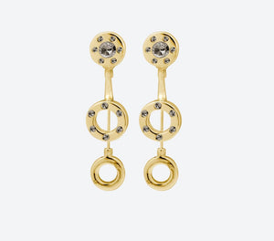 Ioaku Heaven Gold Earrings - Your Style Your Story