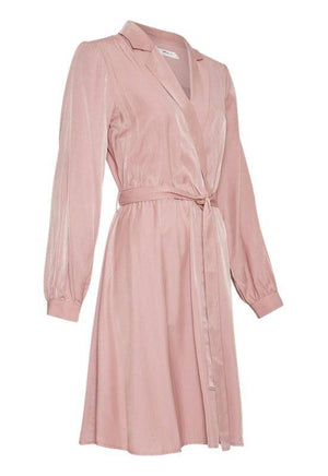 Moss Copenhagen Ash Rose Pink Dress