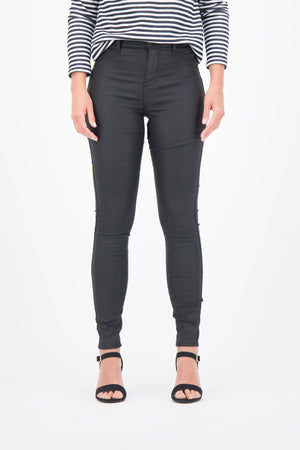 Garcia Skinny Shelter Black Coated Jeans