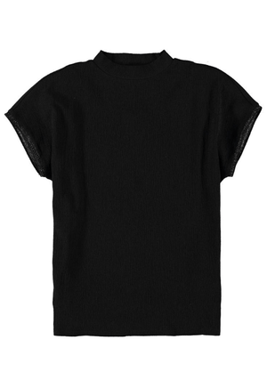 Black Garcia t-shirt with turtleneck
