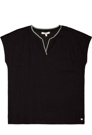 Garcia Black Sleeveless Top