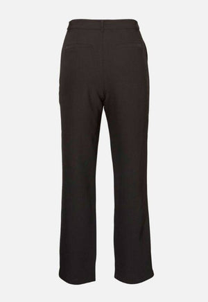 Moss Copenhagen Black Trousers with Tie Belt