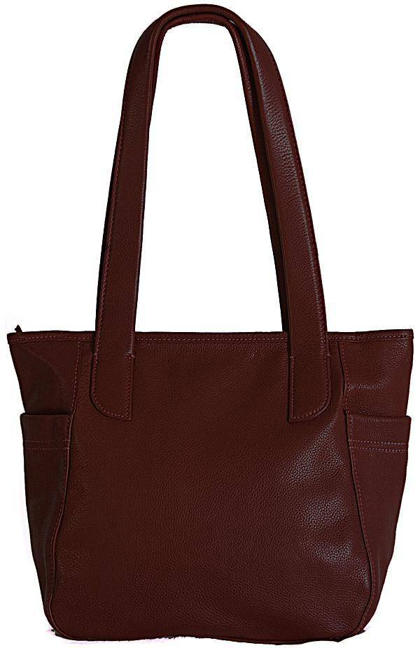 Shona Easton Brown leather Shoulder Bag