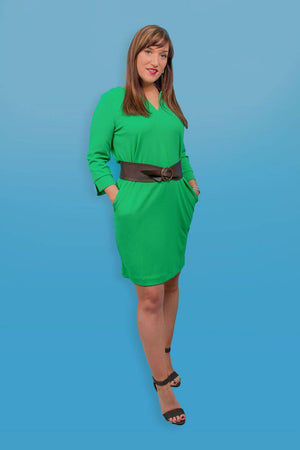 Mint Leaf Green Garcia Dress