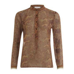 Coster Copenhagen Blouse with Python Print