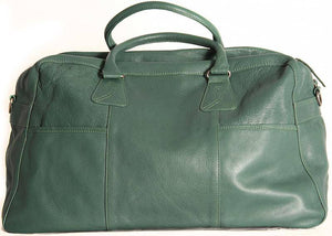 Shona Easton Green Leather Overnight Bag - Your Style Your Story