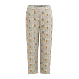 Coster Copenhagen trousers with tile print