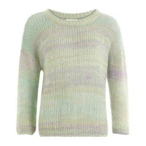 Coster Copenhagen Mohair sweater in open round neck