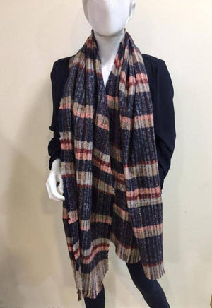 Kate & Pippa Navy Scarf