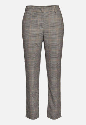 Moss Copenahgen grey trousers in check