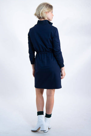 Dark Blue Garcia Dress