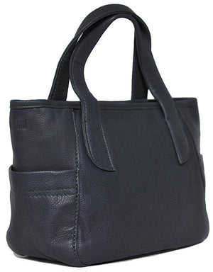 Shona Easton Handheld Navy Blue Bag