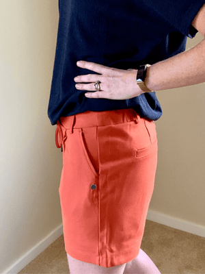 Garcia Ochre Orange Shorts