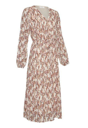 Moss Copenhagen Pink Allover Print Dress