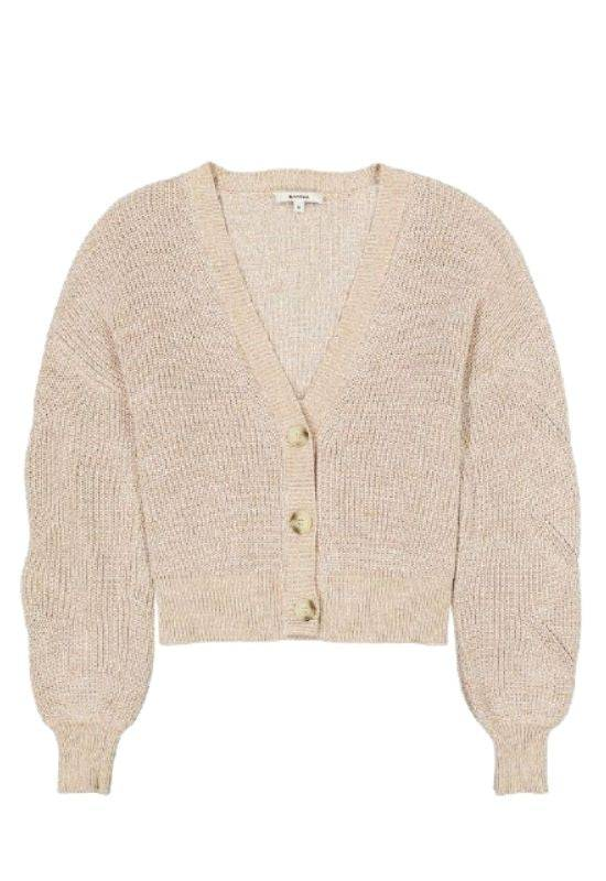 The Sophie - Tan Cardigan