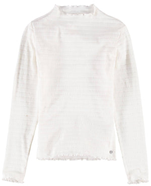 Garcia blouse with high neck