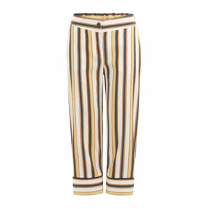 Coster Copenhagen wide summer trousers with piping